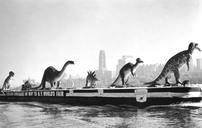1964 Worlds Fair Dinosaur Transport