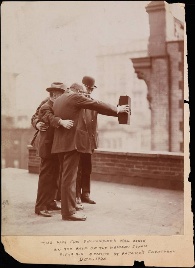 Joseph Byron Group Selfie 1920